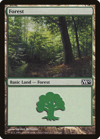 Forest (248) [Magic 2010] | Most Excellent Gaming