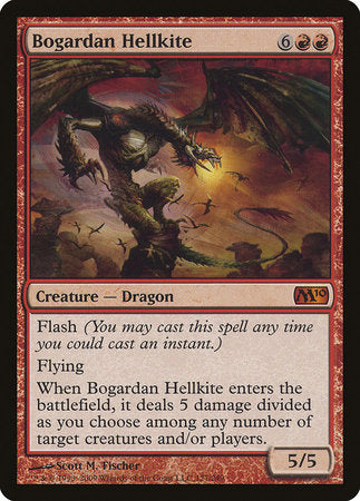 Bogardan Hellkite [Magic 2010] | Most Excellent Gaming