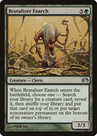 Brutalizer Exarch [Planechase 2012]