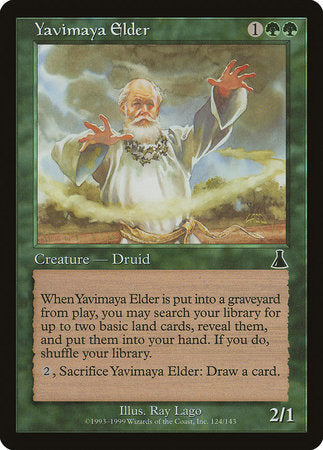 Yavimaya Elder [Urza's Destiny] | Most Excellent Gaming