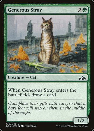 Generous Stray [Guilds of Ravnica] | Most Excellent Gaming
