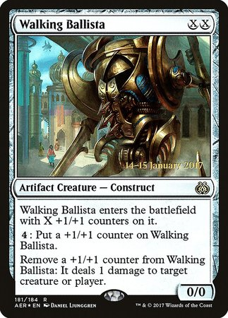 Walking Ballista [Aether Revolt Promos] | Most Excellent Gaming