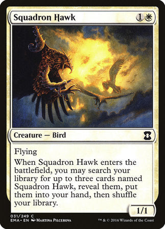 Squadron Hawk [Eternal Masters]