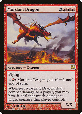 Mordant Dragon [Duel Decks: Knights vs. Dragons]