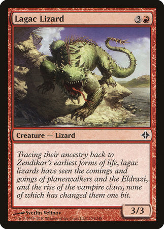 Lagac Lizard [Rise of the Eldrazi]