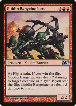 Goblin Bangchuckers [Magic 2012]