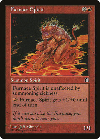 Furnace Spirit [Stronghold]