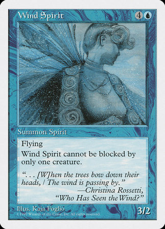 Wind Spirit [Fifth Edition]
