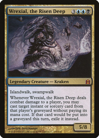 Wrexial, the Risen Deep [Commander 2011]