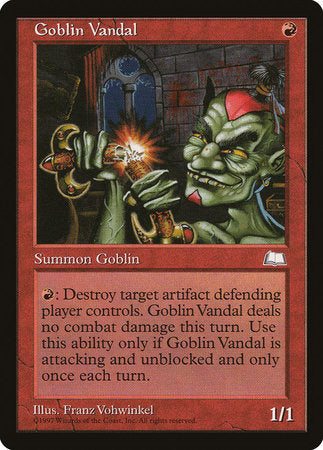 Goblin Vandal [Weatherlight]