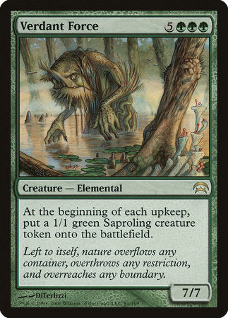 Verdant Force [Planechase]