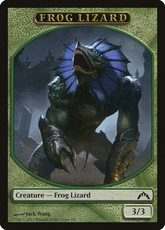 Frog Lizard Token [Gatecrash Tokens]