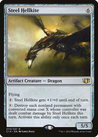 Steel Hellkite [Commander 2014]