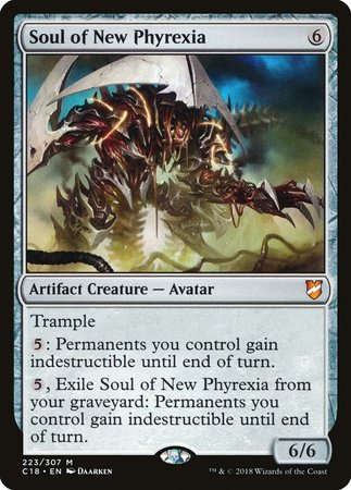 Soul of New Phyrexia [Commander 2018]