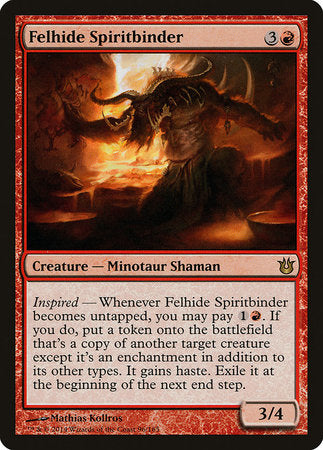 Felhide Spiritbinder [Born of the Gods]