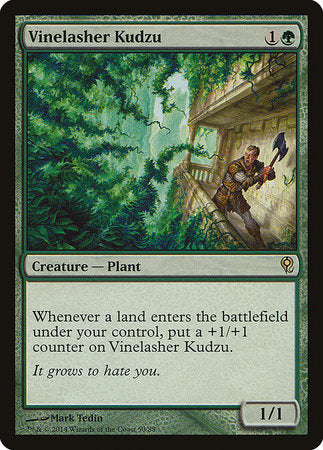Vinelasher Kudzu [Duel Decks: Jace vs. Vraska]