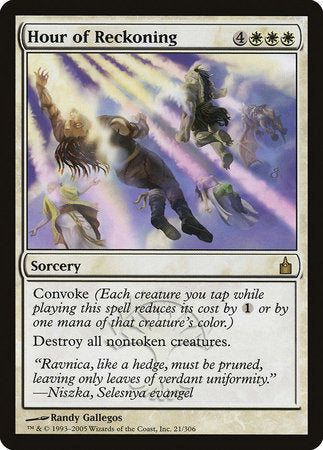 Hour of Reckoning [Ravnica: City of Guilds]