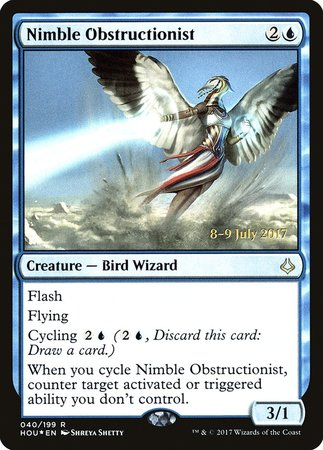 Nimble Obstructionist [Hour of Devastation Promos] | Most Excellent Gaming