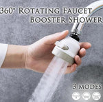 360° Rotating Faucet Booster Shower