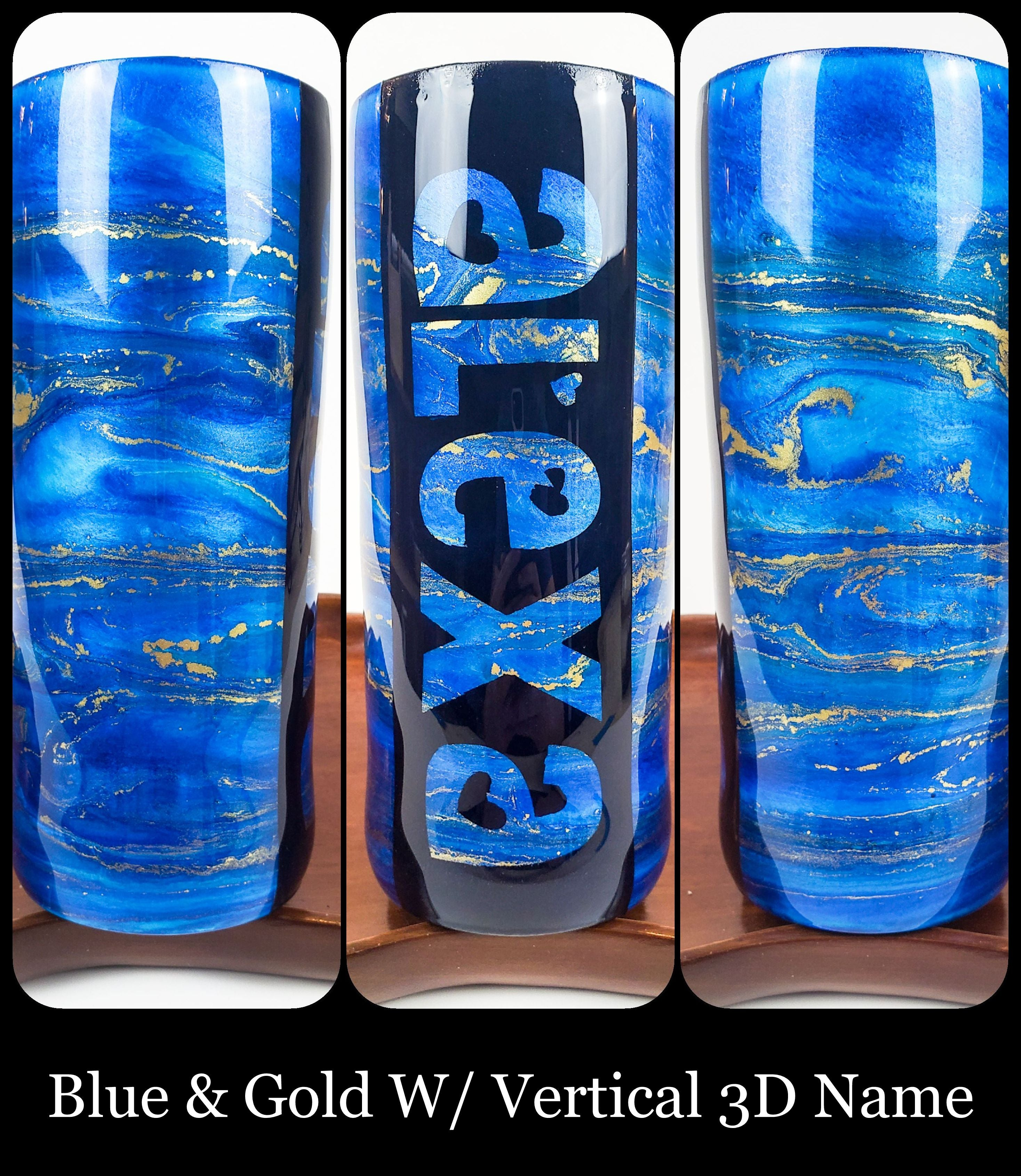 Customize Your 20oz Resin Art Tumbler!