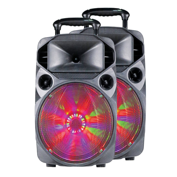 "Dual15"" Speakers With True Wireless Technology"