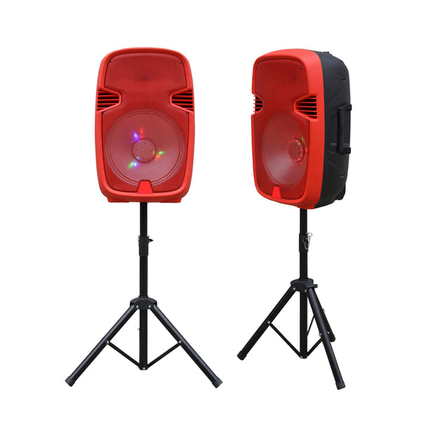 "15"" Portable Bluetooth® Speaker With Stand"