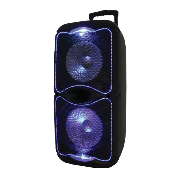 "2 x 12"" Portable Bluetooth® Speaker with True Wireless Technology"