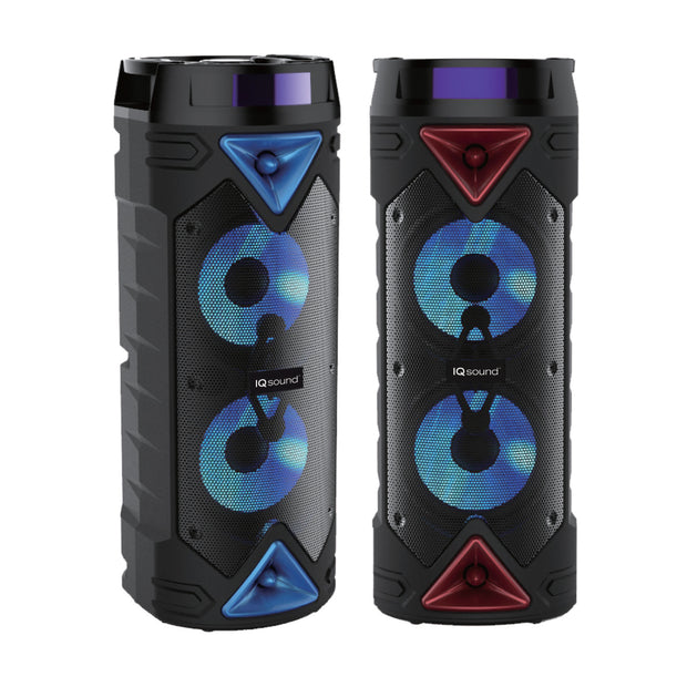 "2 x 6.5"" Portable Bluetooth® Speaker with App Control"