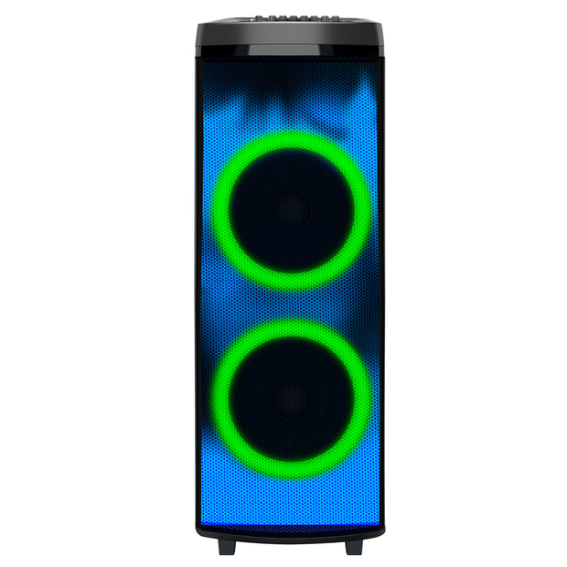 "2x 12"" Bluetooth® Speaker with LIGHT SHOW"