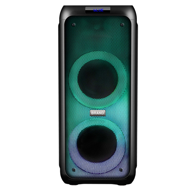 "2 x 5.5"" Bluetooth® Speaker with LIGHT SHOW"