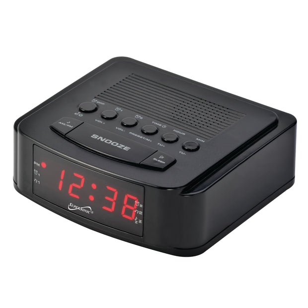 Dual Alarm CLock Radio wih USB Charging Port