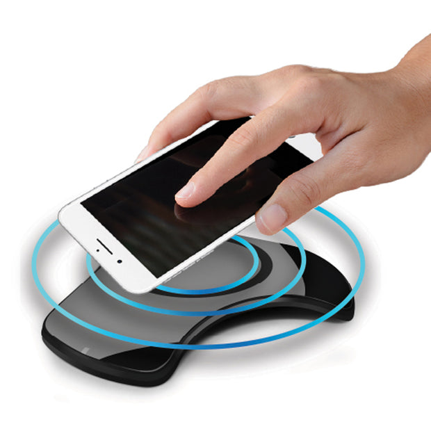 Qi Wireless Charging Pad with Rapid Charge Technology