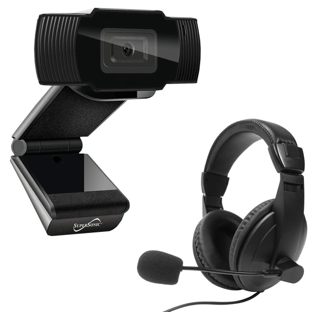 Pro-hd Video Conference Kit Pro Hd Webcam & Stereo Headset