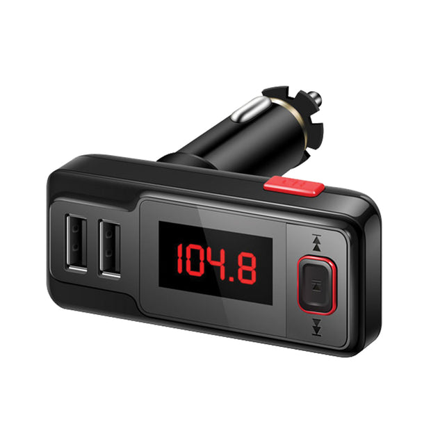 Bluetooth® Wireless FM transmitter Dual USB & Car charger