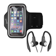 2-in-1 Sport Kit Sport Armband & Earphones with Microphone