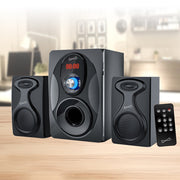 Bluetooth® Multimedia Speaker System with Remote Control