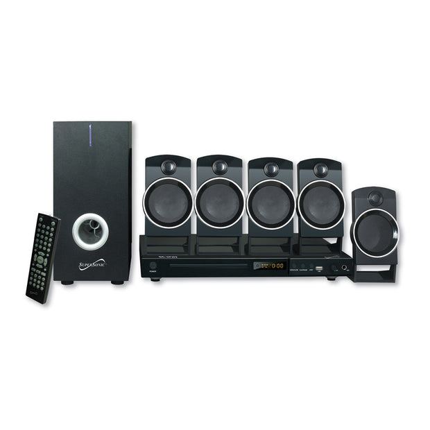 5.1 Channel DVD Home Theater System With USB Input & Karaoke Function
