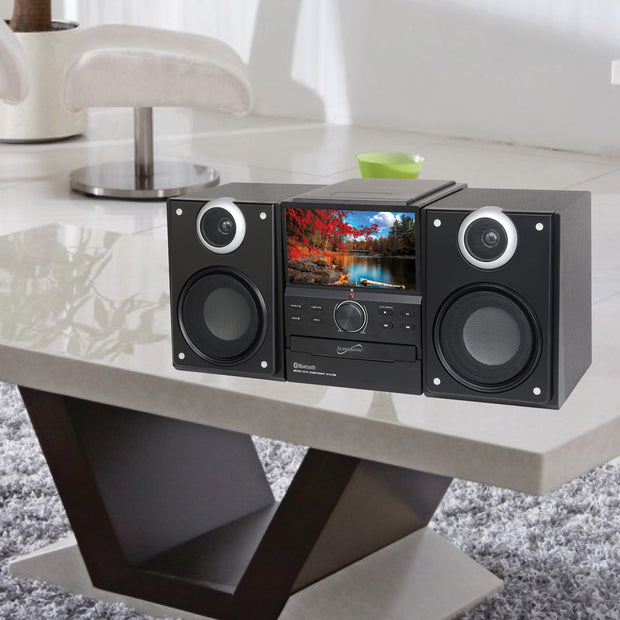 Hi-Fi Audio Micro System with Bluetooth® & DVD Player