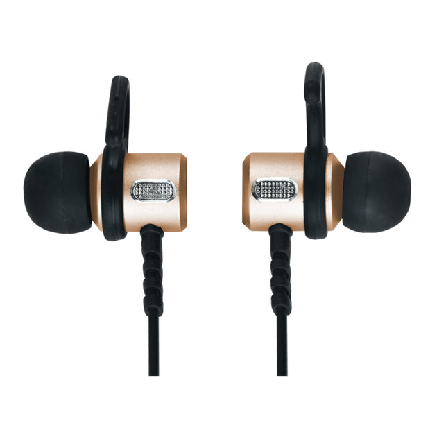 Magnetic Bluetooth® Wireless Earphones & Mic