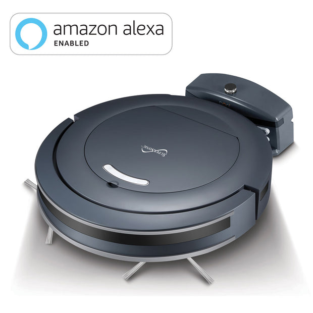ROBOT VACUUM CLEANER with WiFi Connectivity and Alexa Enabled