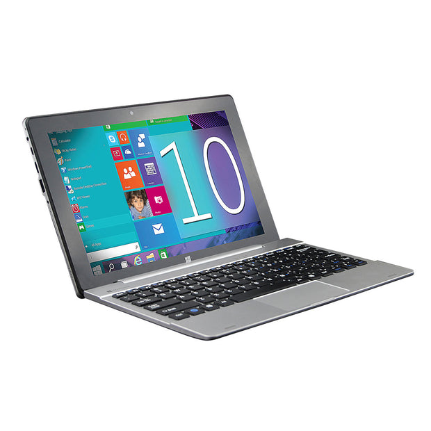 "10.1"" Windows 10 Tablet with 32GB of Storage, Bluetooth® and Full Keyboard"