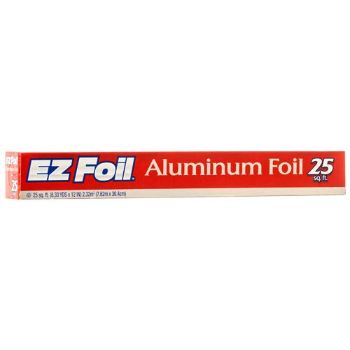"New 346020 Ez Aluminum Foil 25Sq 12"" (-Pack) Foil & Wrap Cheap Wholesale Discount Bulk Kitchenware Foil & Wrap Fashion Accessories"