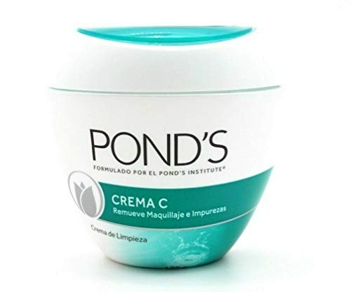 Pond's C Makeup Remover Cleanser Face Cream 185g From Mexico New
