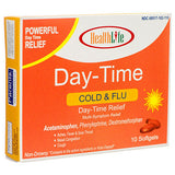 2 Pack Acetaminophen, Phenylephrine Dextromethorphan Day-time Relief 10 Softgels
