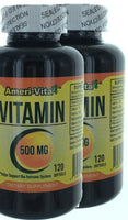 Vitamin C 500MG 120 Softgels Immune Support Anti-Cold, good Absorb Effect 2 Pack