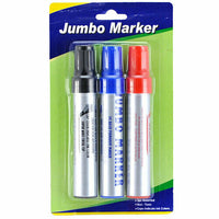 Marker 3Pc Set Jumb Permanent (2-Pack) X Others Cheap Wholesale Total 6 Pieces