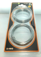 2 Pack Iron Wire Soft and Flexible ideal for hobbies and fixing up fences 65 Ft.