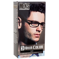 2 PackS Black Hair Color Men's Select for men Permanent Hair Dye in 5 Minutes