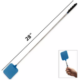 FLY SWATTER Plastic Bug Mosquito Insect Killer Telescopic 4 PACK EXTENDABLE