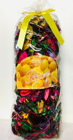 Lemon Potpourri Multicolor Dried Flower 7.5 OZ Bag Size: 10'' x 5'' x 4''